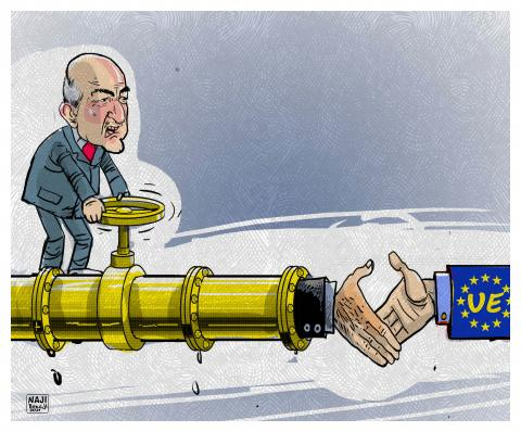 Algeria uses gas policy to win European positions