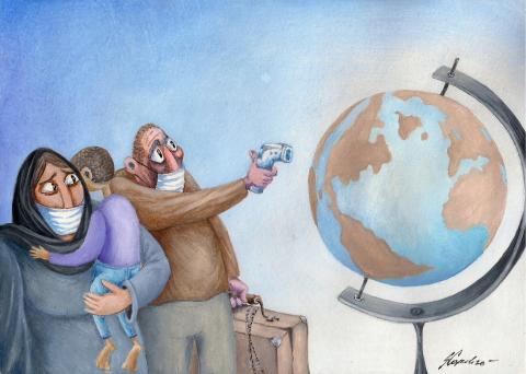 Migration during pandemics