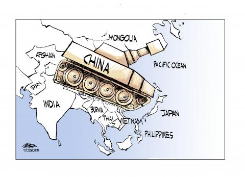 Cartoon about China