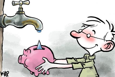 Cartoon about water