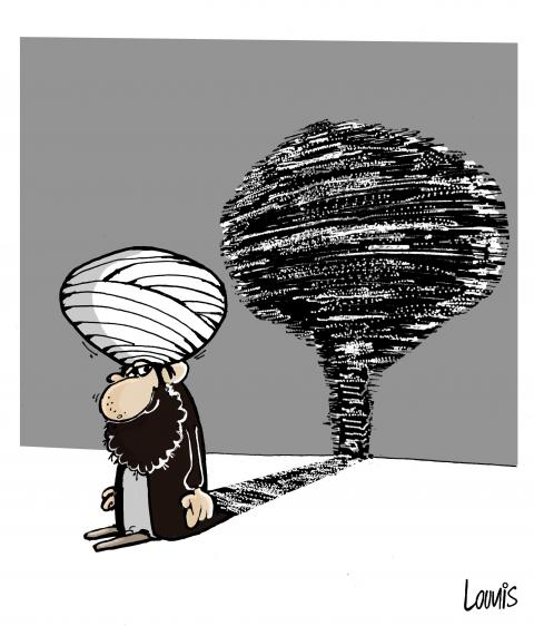 Cartoon about Iran