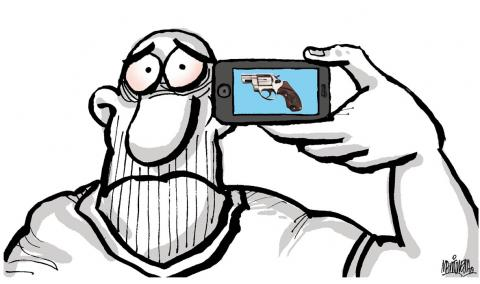 Cartoon about progress
