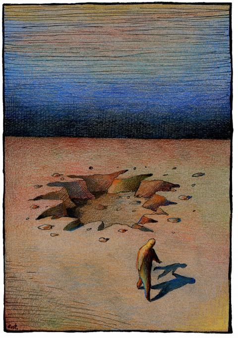 Cartoon about trauma