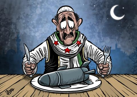 Cartoon about Syria