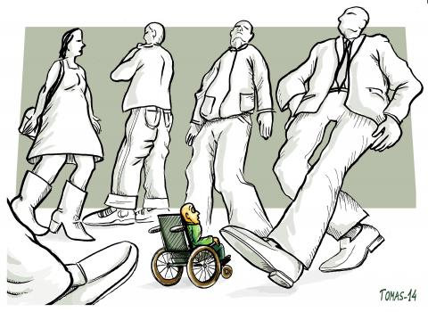 Cartoon about disability