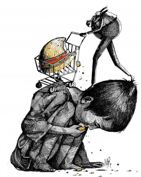 Cartoon about children's rights