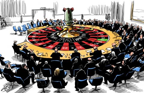 Cartoon about the Security Council
