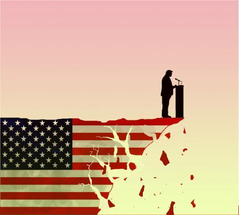 Cartoon about America