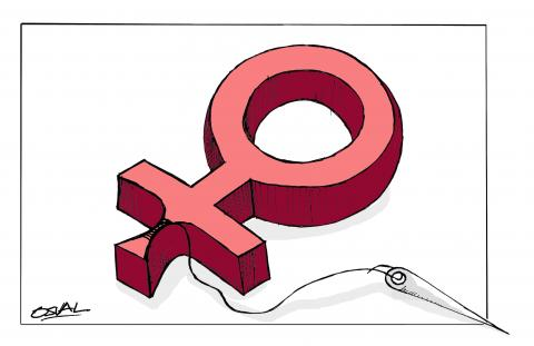 Cartoon about female genital mutilation