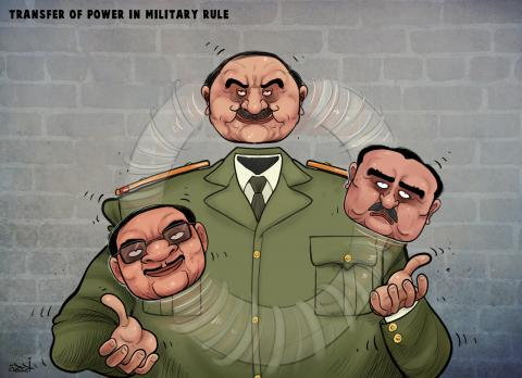 Cartoon about dictators