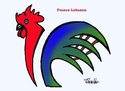 Macron  visits Lebanon..