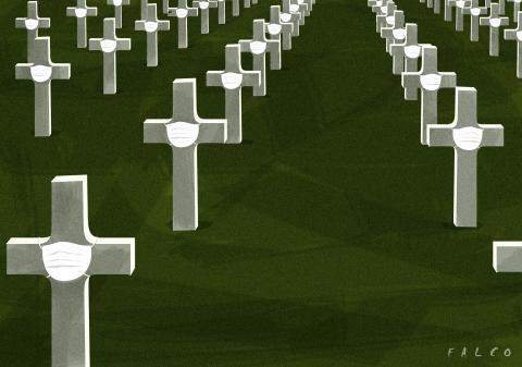 Pandemia cemetery