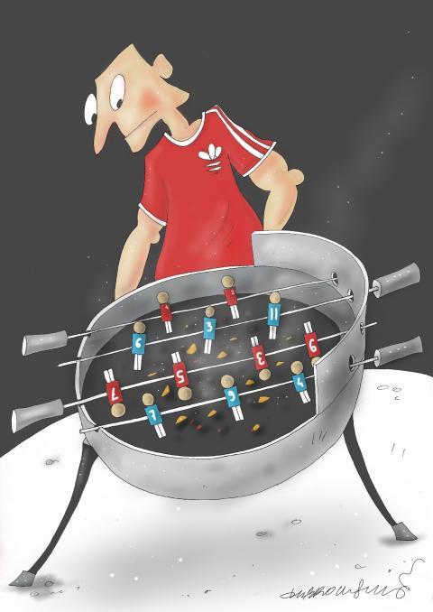 Football - Foodball