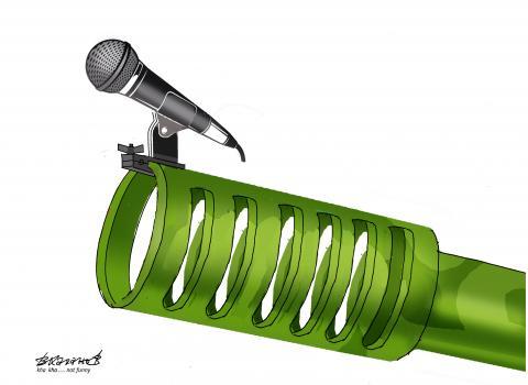 Free microphone.