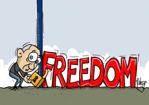 libertad a medias