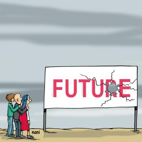 the future with covid looks bleak