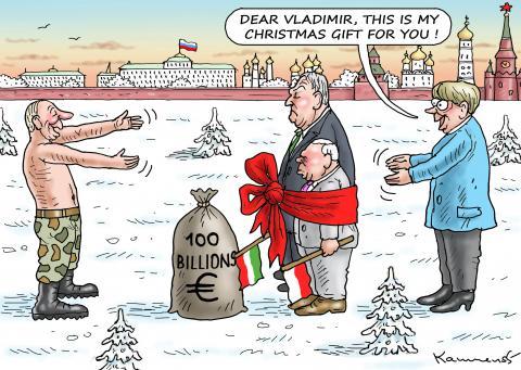 Christmas gift for Putin