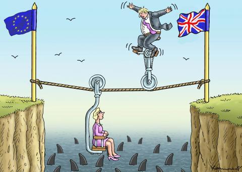 LAST BREXIT MEETING-Ursula and Boris