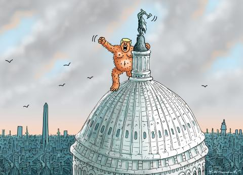 ORANGE KING KONG ON CAPITOL