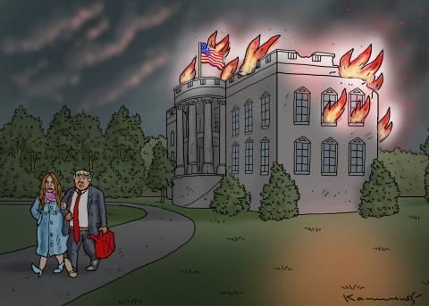 BYE BYE, WHITE HOUSE !