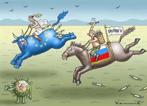 PUTIN SAVES THE EU
