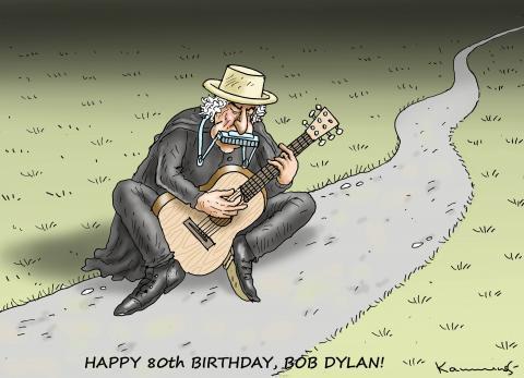 HAPPY 80th BIRTHDAY, BOB DYLAN!