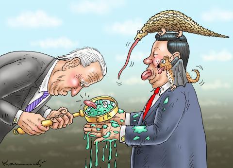 BIDEN´S CIA AND XI JINPING