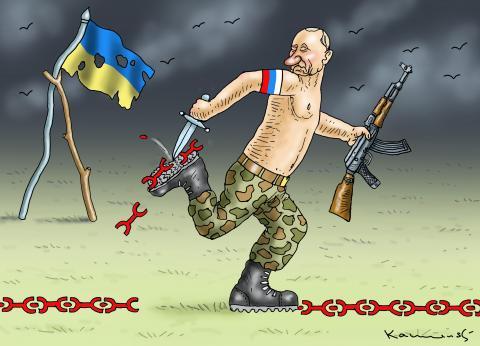 Putin feels like killing again