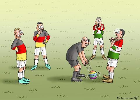 Germany versus Hungary