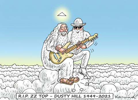 R.I.P. DUSTY HILL