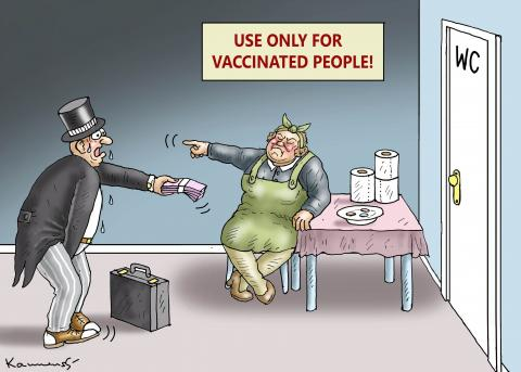ONLY FOR VACCINATED PEOPLE