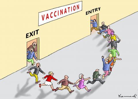 VACCINATION HYSTERIA