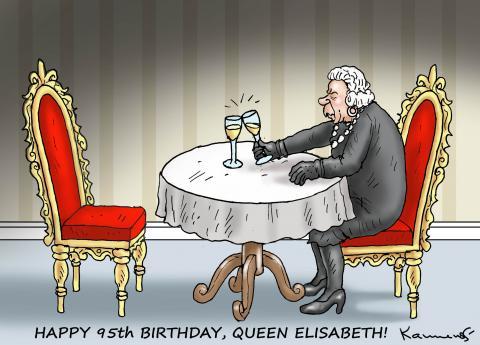 HAPPY 95th BIRTHDAY, QUEEN ELISABETH!
