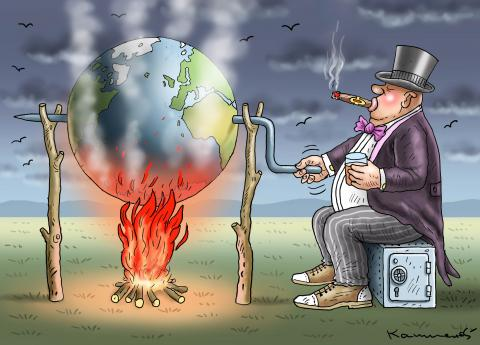 WHY THE GLOBAL WARMING