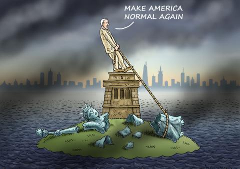 MAKE AMERICA NORMAL AGAIN