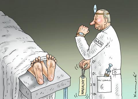 Dr.Putin und Navalny