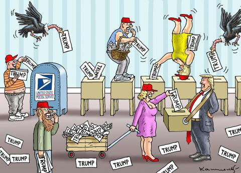 Election fraud orgy