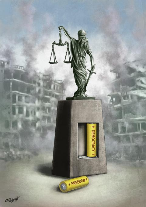 Justice is the only foundation upon which a society of free and independent people can exist. Justice is a concrete, recognizable, and objective principle. It is not a matter of opinion.