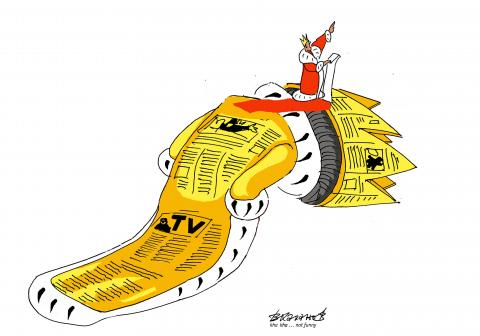 @OllyMead1 Have we ever really had independent journalism? We have had individual independent journalists who do great work, and cartoonists who do likewise, but most newspapers have had a party line of some kind or another for centuries.