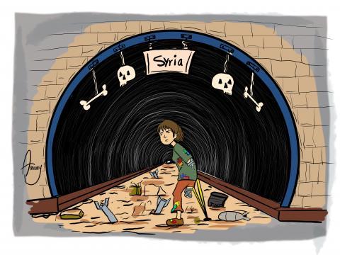 Children in Syria are uncertain of the future