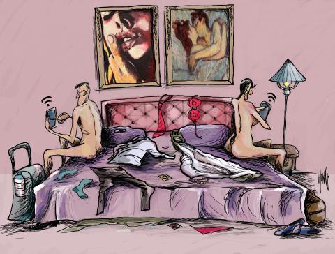 La adicción por las tecnologías interfiere hasta en la manera de amarnos