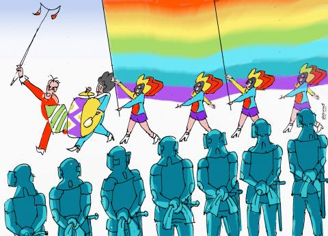 Non-persecution of LGBT activists is a true concern for human rights