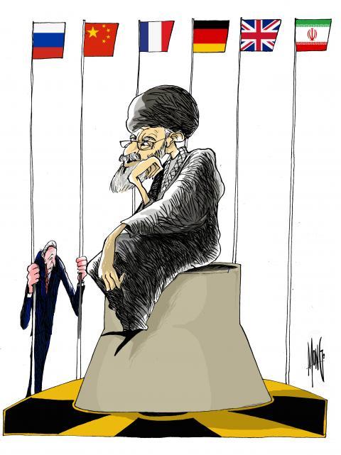 Irán y varias potencias mundiales discutieron la entrada de Estados Unidos al acuerdo nuclear, comenzando conversaciones indirectas sobre acuerdos nucleares con Irán