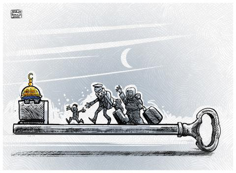 The return of the Palestinians to their country