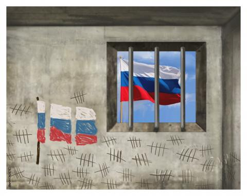 RUSSIA: Navalny in prison