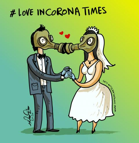 precautionary measures to confront the Covid-19  pandemic for marriage