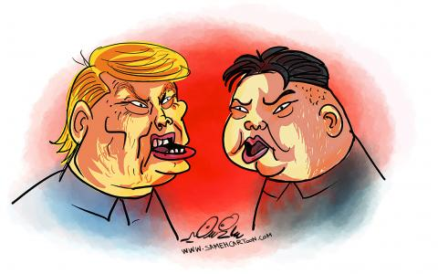 Donald Trump or Kim Jong-un