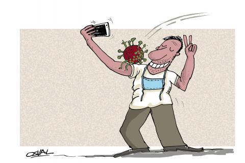 Selfie sorpresa.