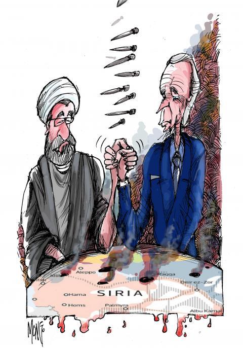 Estados Unidos lanza un ataque aéreo en Siria contra estructuras de milicianos apoyados por Irán La primera operación militar de la era Biden responde al lanzamiento de cohetes contra objetivos estadounidenses en Irak