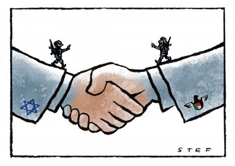 peace agreement Israel Palestina conflict